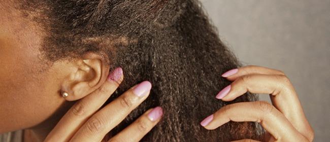 application lait de coco cheveux