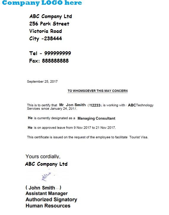 sample cover letter for tourist visa application schengen