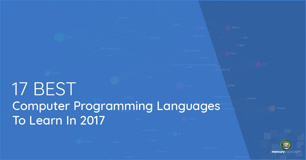best programming language for desktop applications