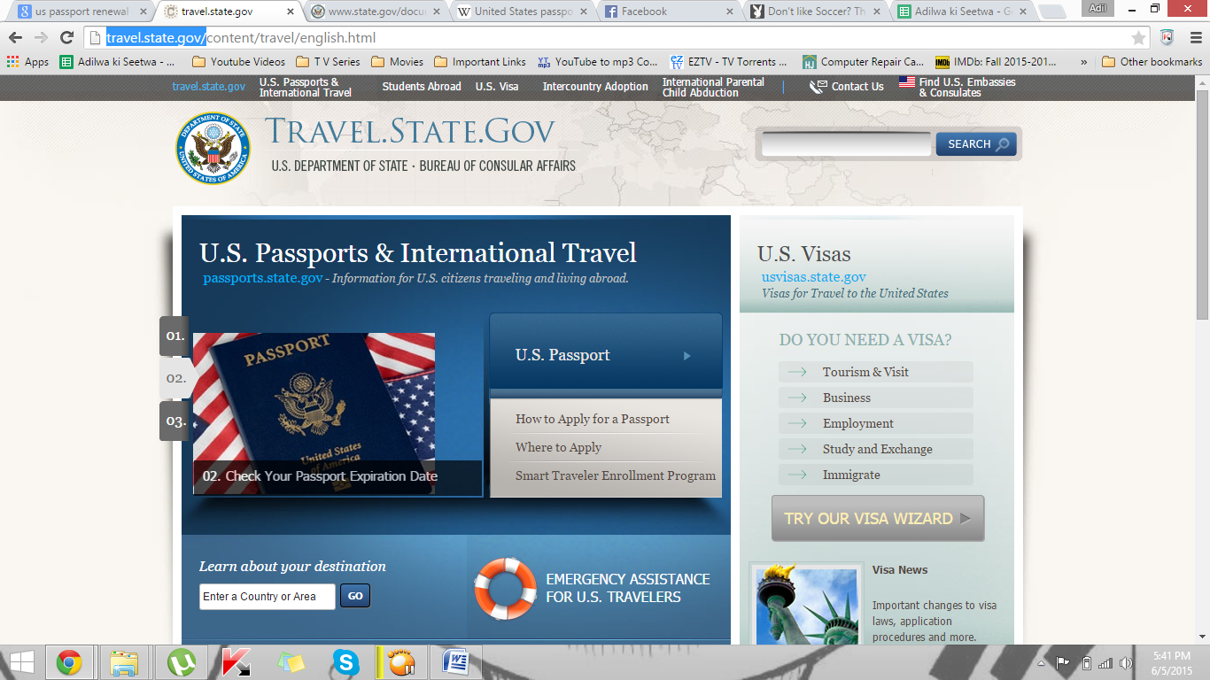 us passport renewal online application form