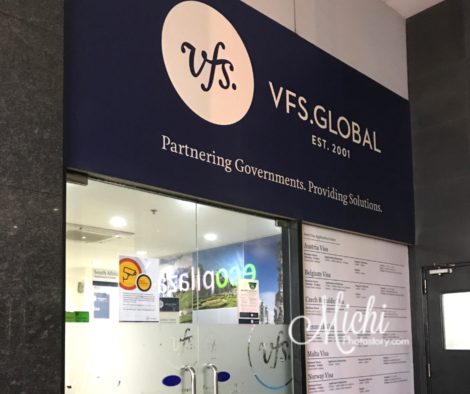 vfs global visa application center makati metro manila