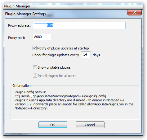 open application manager in settings