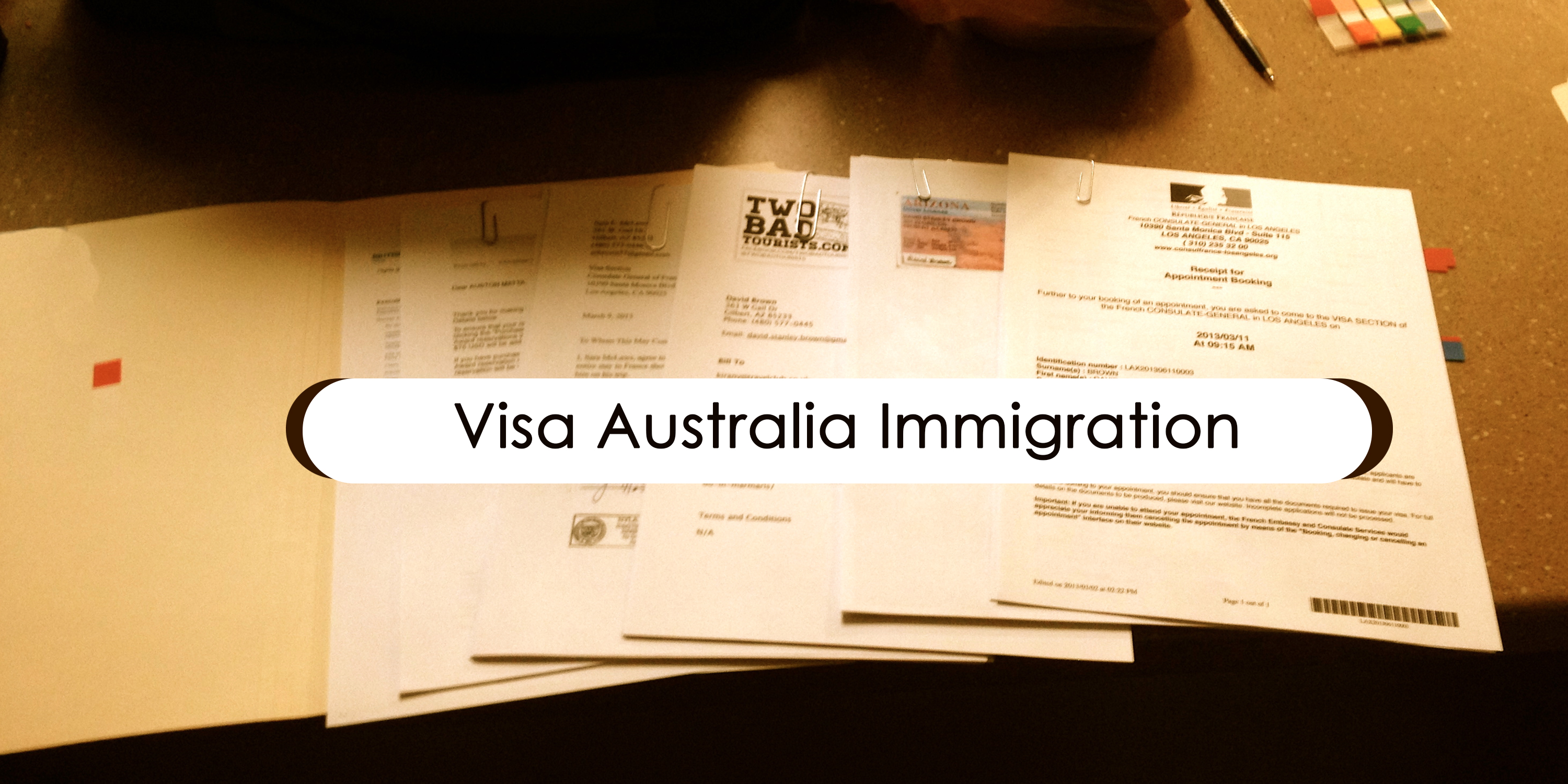 australian visa application from usa