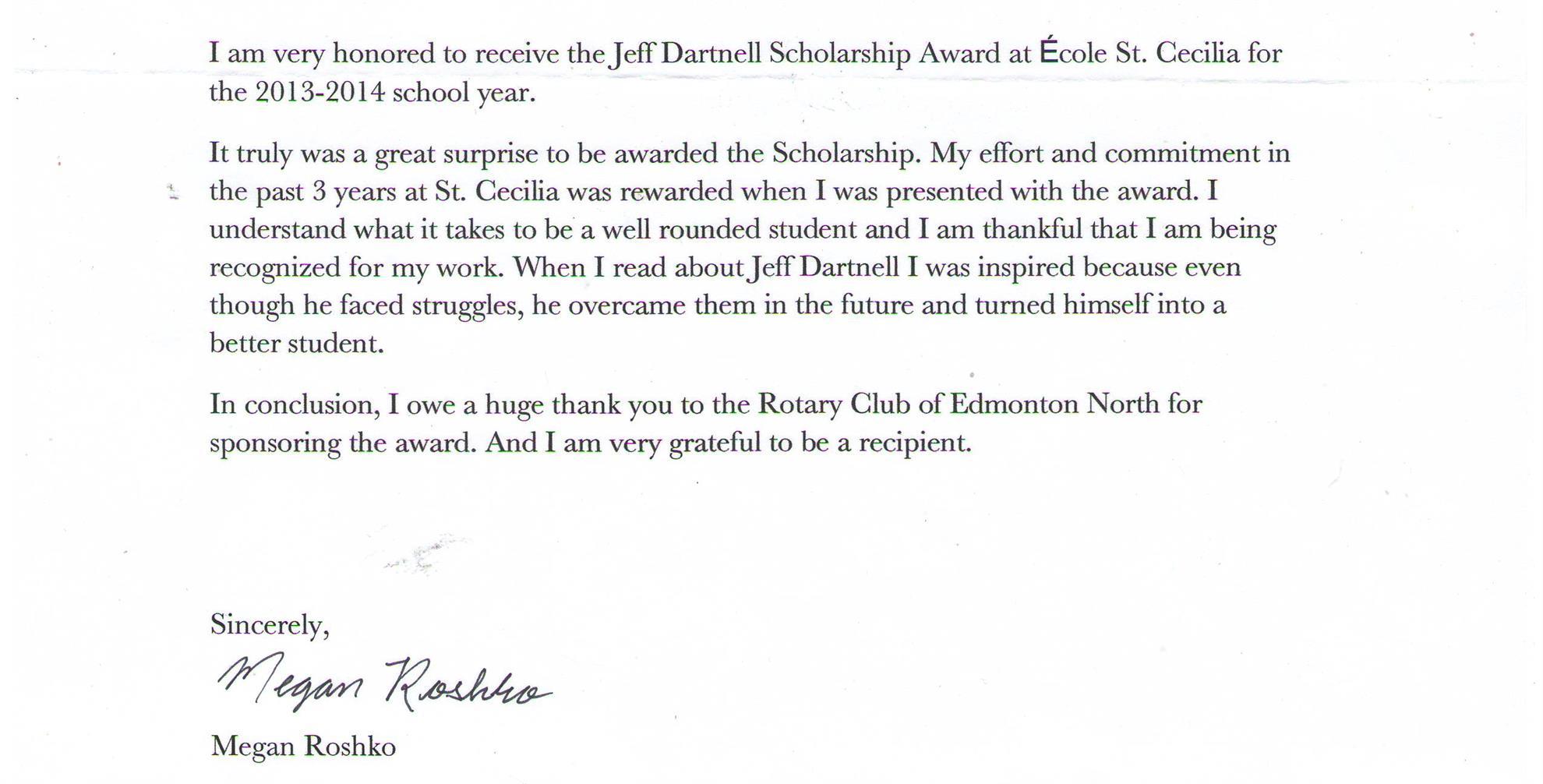 rotary club scholarship application 2017