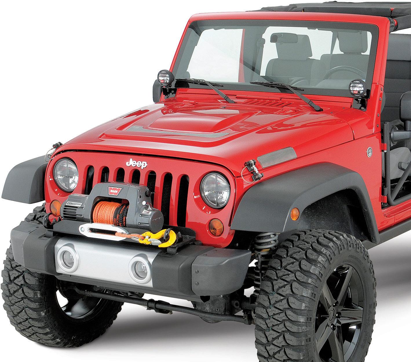 jeep wrangler front bumper applique