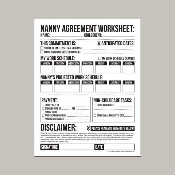 live in caregiver application checklist