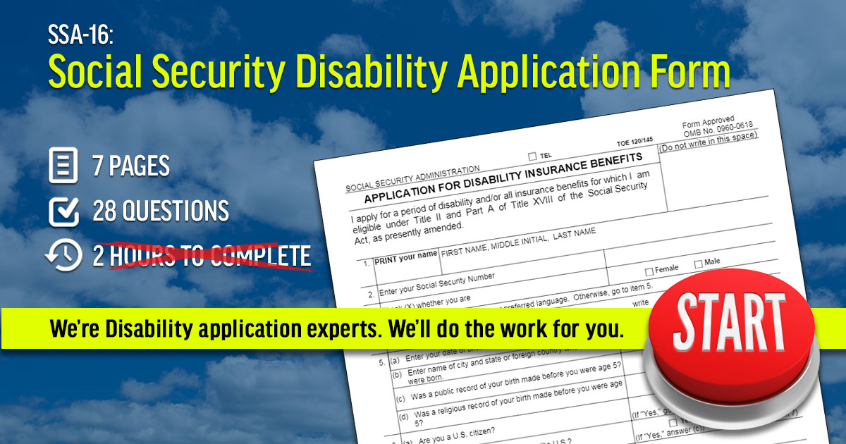 social security disability application re entry