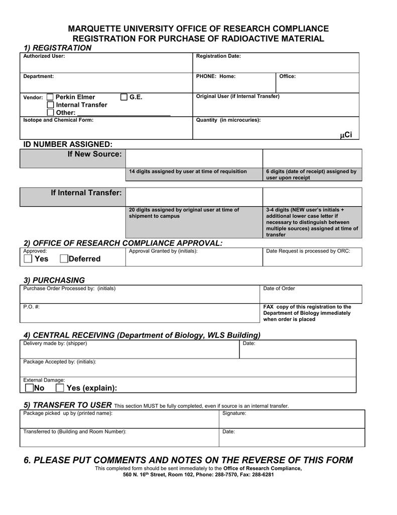 application for transfer of registration form