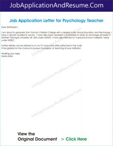 application letter for information technology graduate