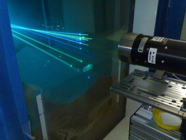 application of he ne laser