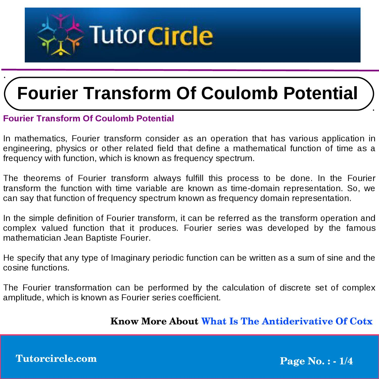 applications of fourier series in engineering