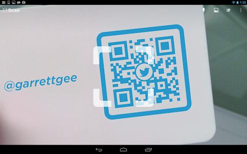 application pour lire code barre android