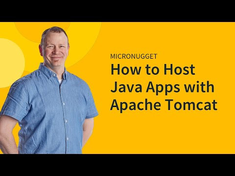 how to host java web application on tomcat