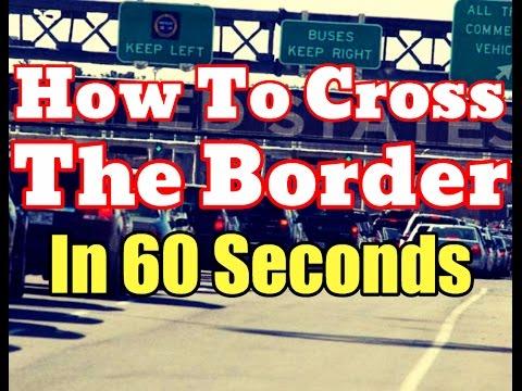 century pass border crossing application