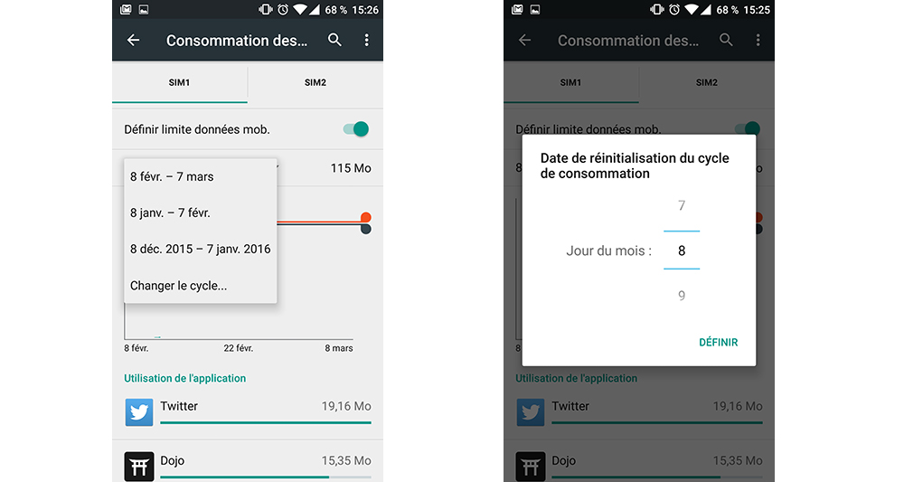 bloquer des applications sur android