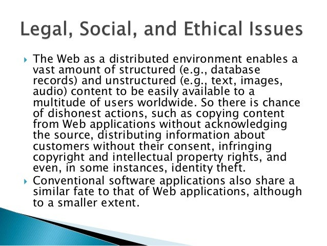 characteristics of web applications in web engineering