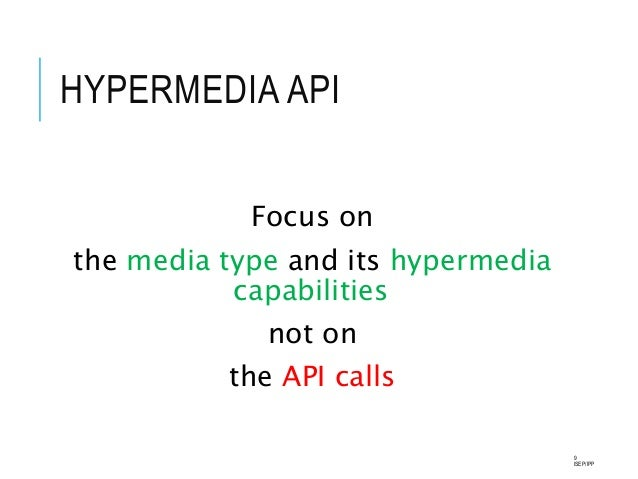 hypermedia as the engine of application state