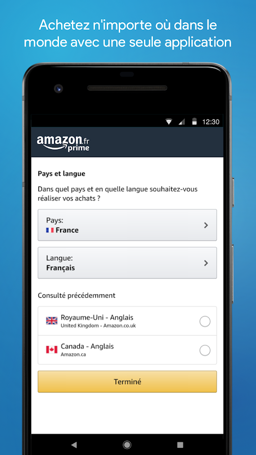application pour lire code barre android