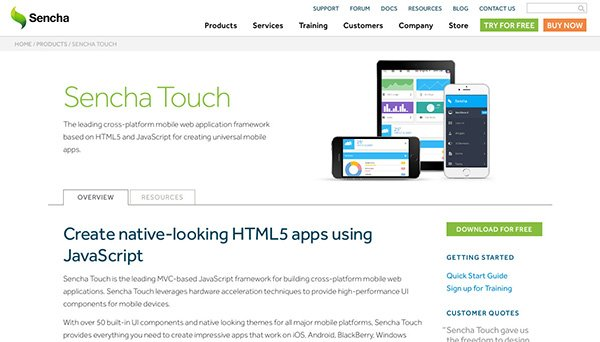 enterprise mobile application development frameworks