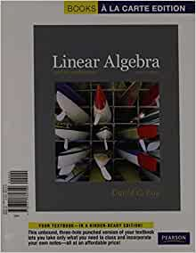 linear algebra and its applications 4th edition