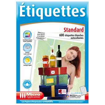 gabarit etiquette cd micro application 5015