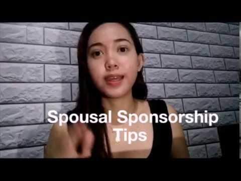 how to organize spousal sponsorship application