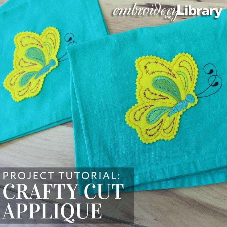 how to start blanket stitch applique