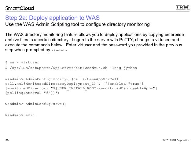 how to start websphere application server from command line
