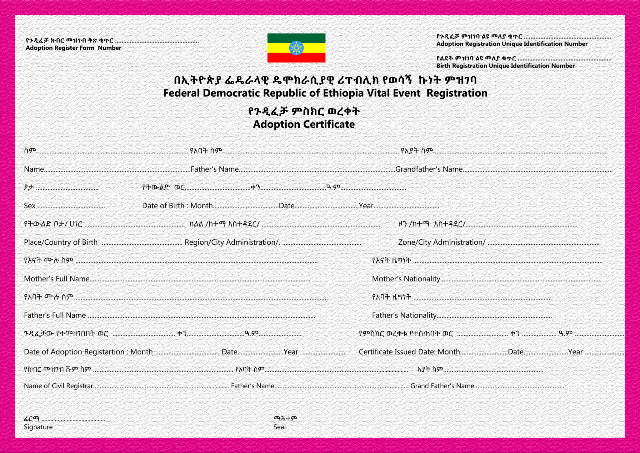national police clearance application form