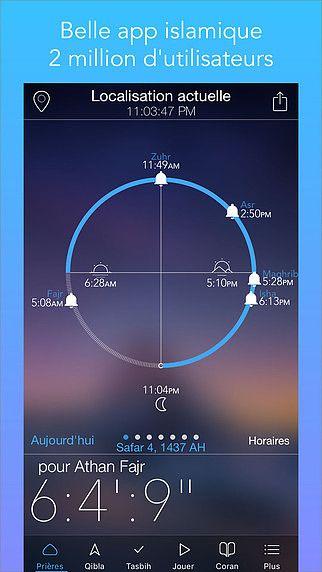 telecharger application heure de priere