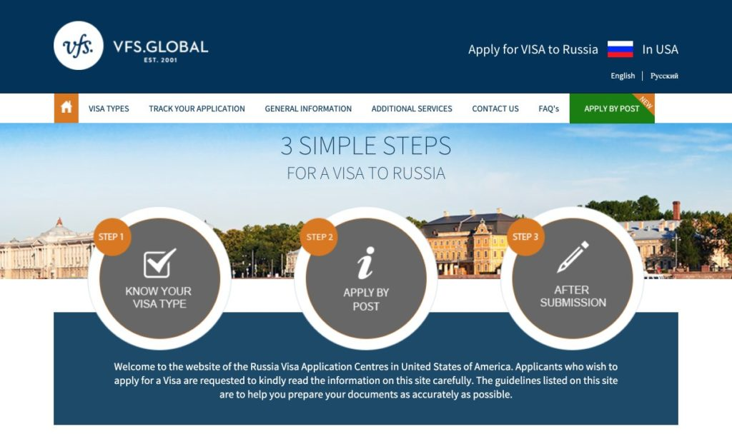 vfs global for canada applications