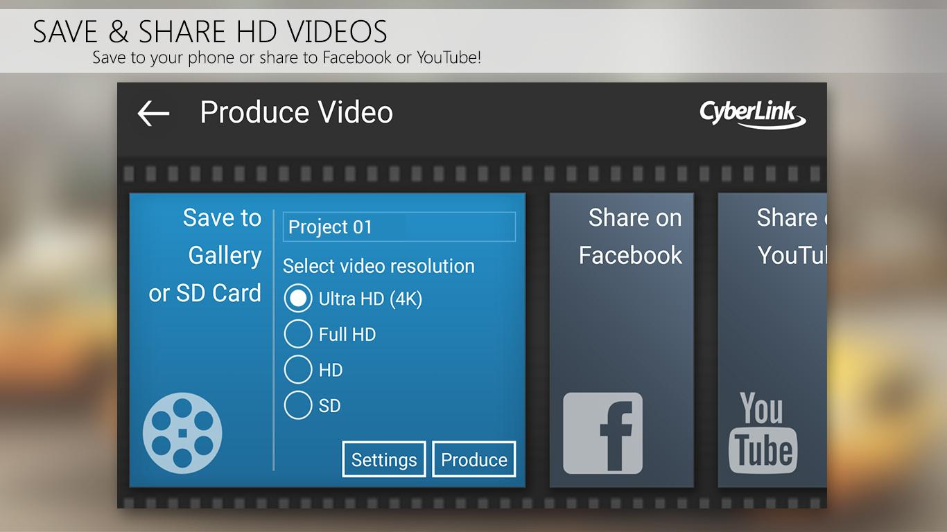 video editing application for android